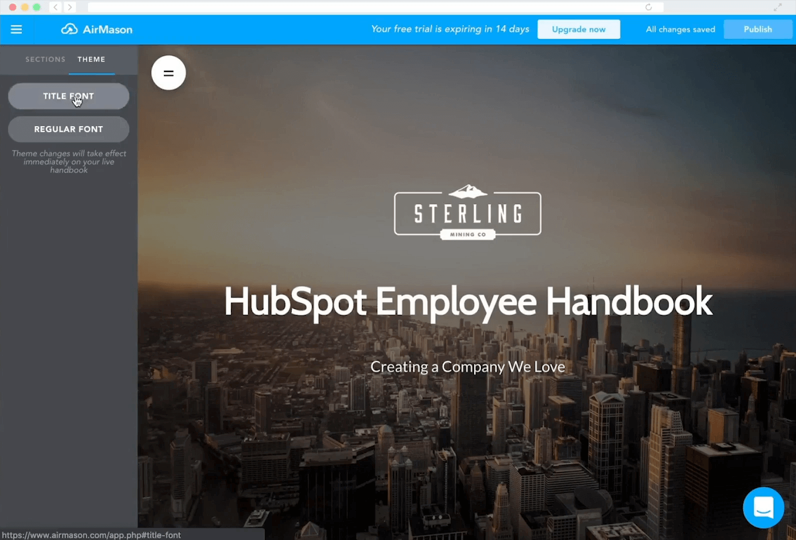 employee handbook software
